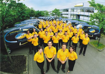 Team photo 2001