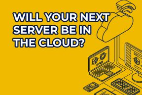 Will your next server be in the cloud?