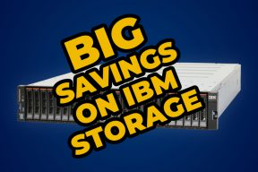 Big Savings of IBM Storage Solutions