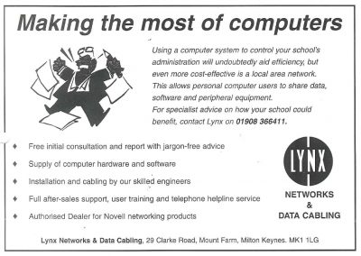An early advert