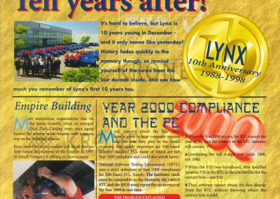 10 year newsletter