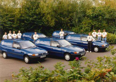Old Lynx Vans